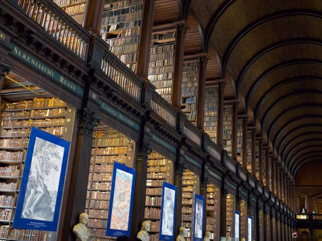 #29 Trinity College Library