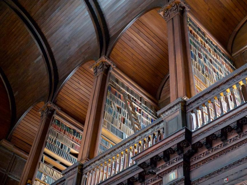 #24 Trinity College Library