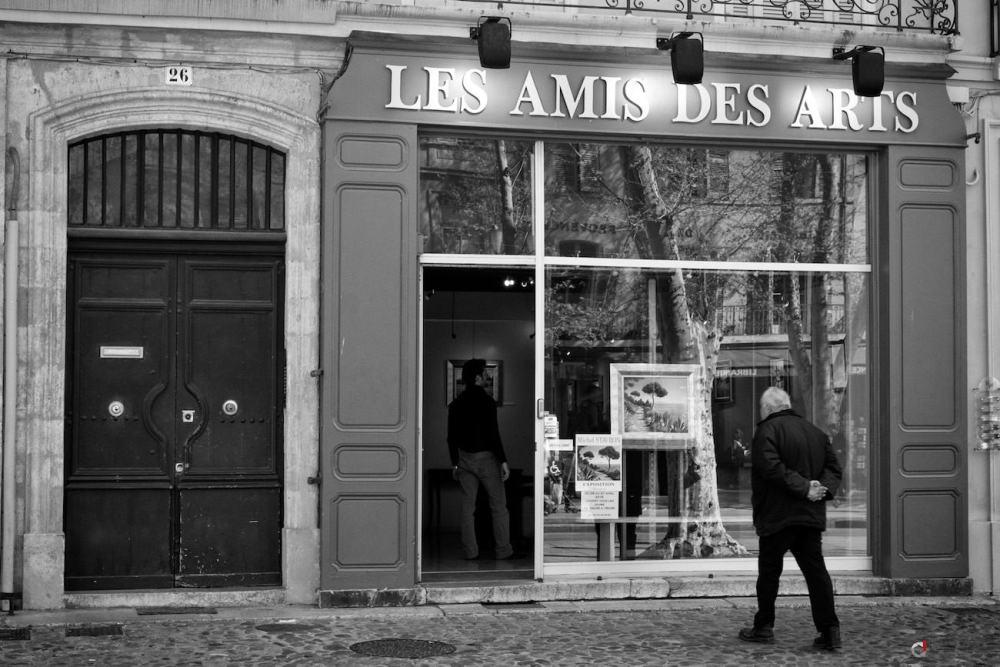 Photo de la façade des amis des arts
