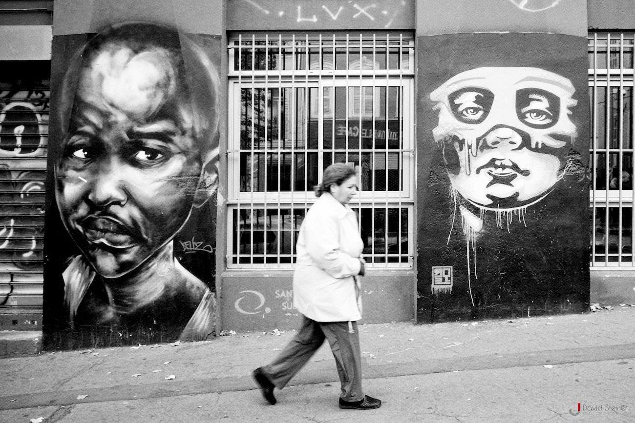 Street art cours julien