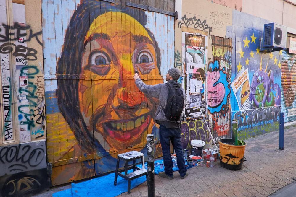 Art de rue au cour Julien Marseille