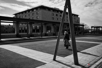 Photo de rue devant l'hôtel Renaissance