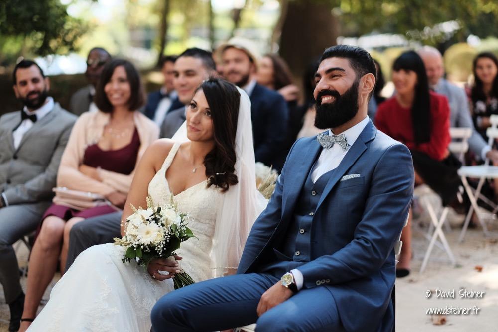Emotion des mariés