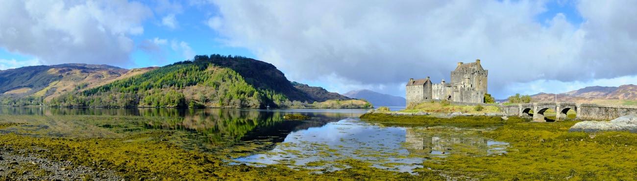 Panoramique : Eilean Donan Castle