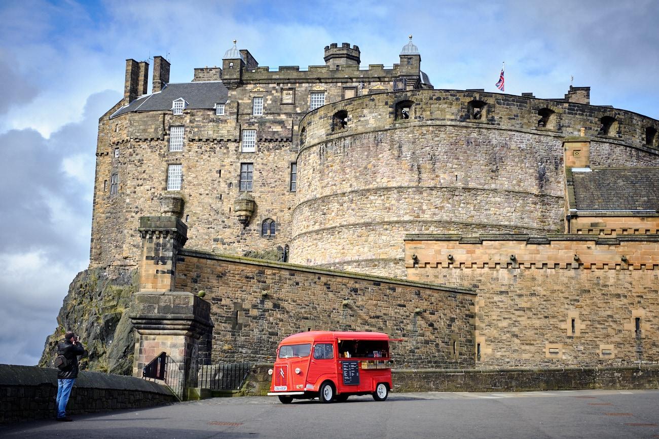 Chateau d'Edimbourg - Edinburg Castle
