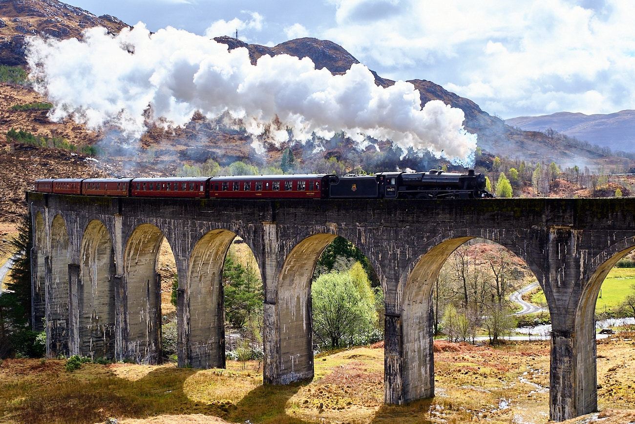 Road trip Ecosse : Pont harry Potter