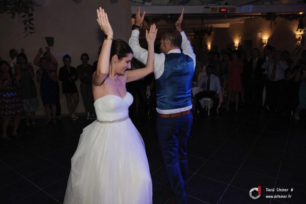 Danse des mariés au château d'Ayguebelle