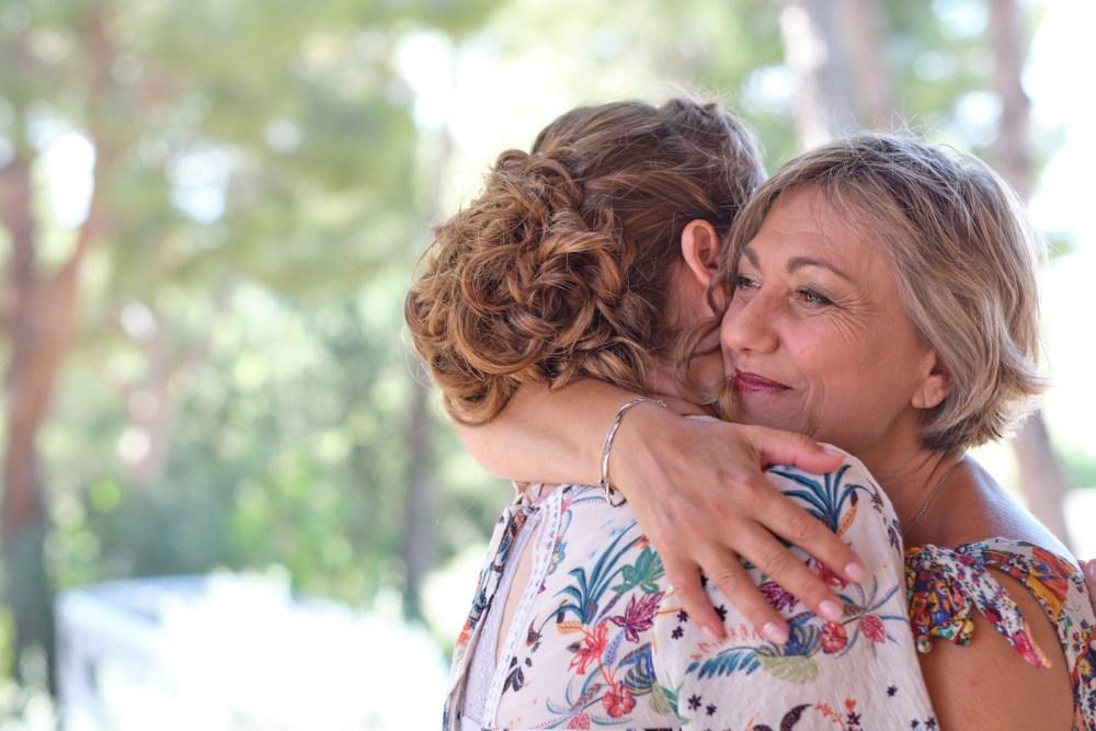 Mère et future mariée à La Fare