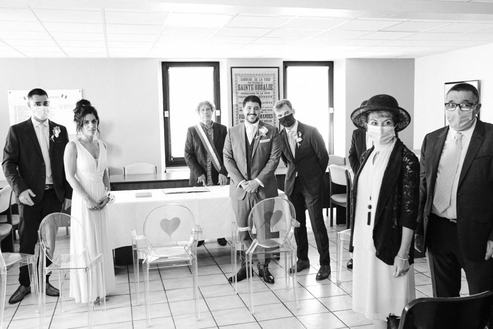 Entrée de la mariée à la mairie