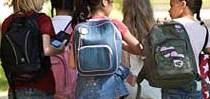 Cuidado com as mochilas escolares