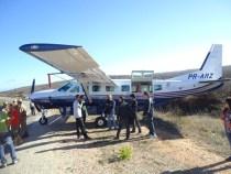 Avião com banda de Amado Batista faz pouso forçado na BA