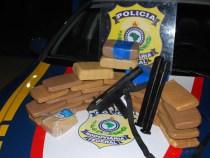 Polícia Rodoviária Federal apreende metralhadora na divisa