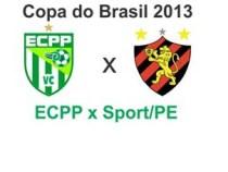 ECPP conhece adversário da Copa do Brasil