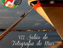Salão de fotografias do mar