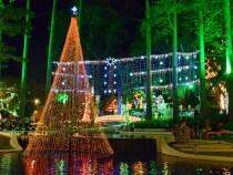 Natal da Cidade: iluminação embeleza Praça  Tancredo Neves