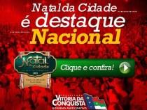 Natal da Cidade é destaque nacional
