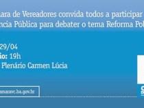Reforma Política é tema de audiência na Câmara
