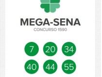 Mega-Sena acumula, prêmio pode ir a R$ 38 milhões