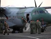 Homens da Força Nacional desembarcam em Salvador