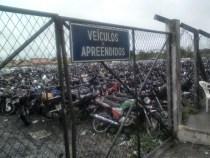 DETRAN-BA realizará leilão de veículos apreendidos