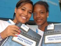 Universidade para Todos: 653 mil inscritos
