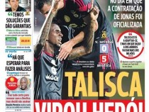 Talisca virou heroi em Portugal