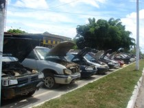 Polícia Rodoviária Federal: leilão de veículos apreendidos