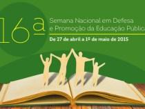 Semana Nacional em Defesa da Educação Pública