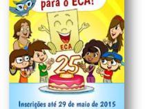 Plenarinho lança concurso: 25 anos do ECA