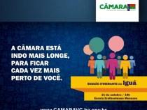 Câmara realiza Sessão Itinerante em Iguá