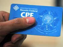 Receita reduz idade para inscrição no CPF