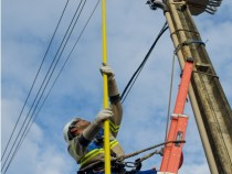Aviso de desligamento de energia elétrica