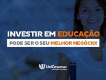 Investir em educação pode ser o seu melhor negócio