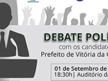 Debate Politico com candidatos a Prefeito de Conquista