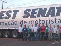 SEST SENAT lança escola de motoristas profissionais