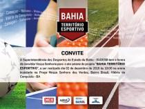 Bahia Território Esportivo será instalado em Conquista