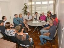Administração Municipal recebe dirigentes do Sinserv