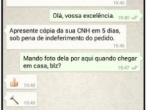 Regulamentada intimação judicial por whatsApp