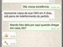 Regulamentada intimação judicial por whatsApp