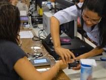 Recadastramento biométrico com hora marcada no SAC