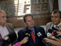 Presidente da FIEB nesta quinta-feira em Vitória da Conquista