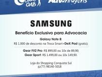 Samsung oferece benefícios em prol da advocacia