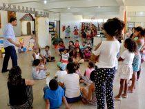 Atividades especiais atraem crianças para a Biblioteca Municipal