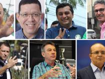 Com sete calouros na política, novos governadores se dividem entre 13 partidos