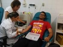 UNINASSAU Conquista realiza coleta de sangue em parceria com Hemoba