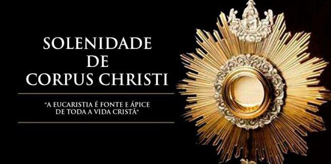 Corpus Christi não é feriado em todos os lugares