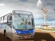 Ônibus cultural gratuito para ver o PM Por do Sol no Cristo de Mário Cravo