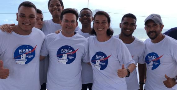 Torneio mundial promovido pela Nasa tem vencedores baianos