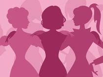 Uma mulher refletindo sobre as mulheres: homenagem ao nosso dia