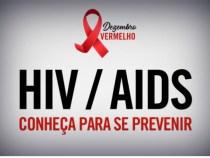 Dezembro Vermelho anuncia combate e prevenção à AIDS